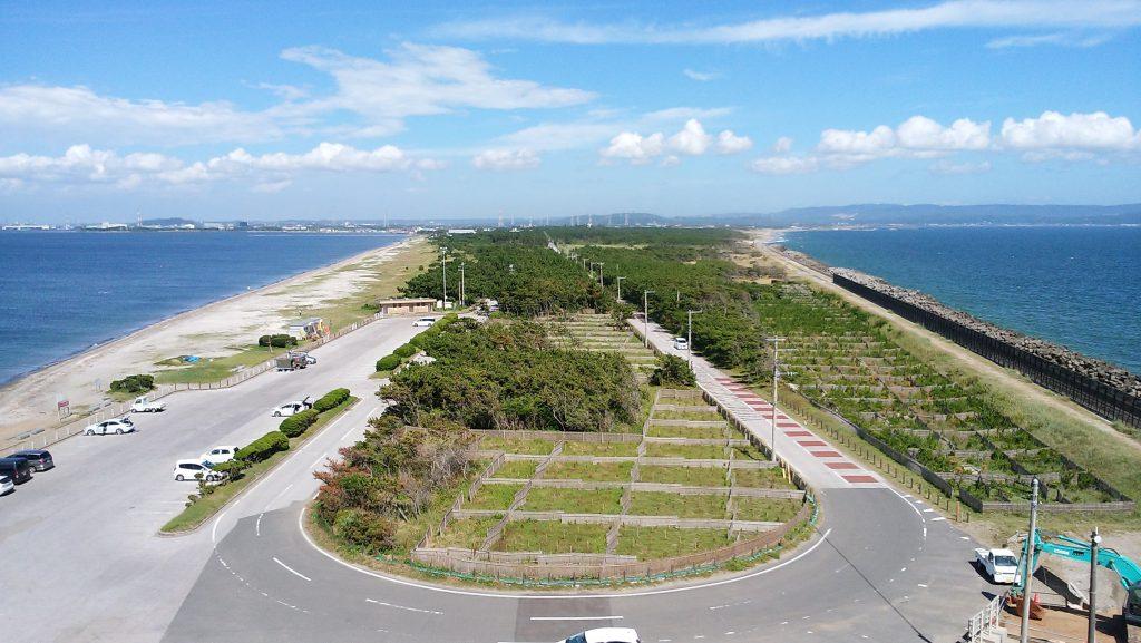 富津岬(展望台からの眺め)
